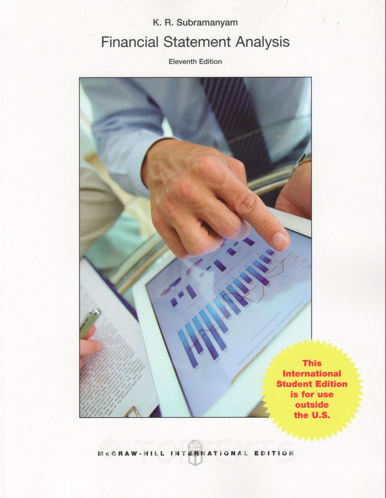 financial statements analyzing and interpreting